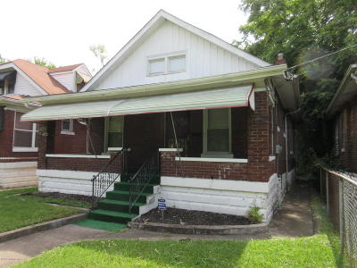 Louisville Single Family Home For Sale: 819 S 40th St