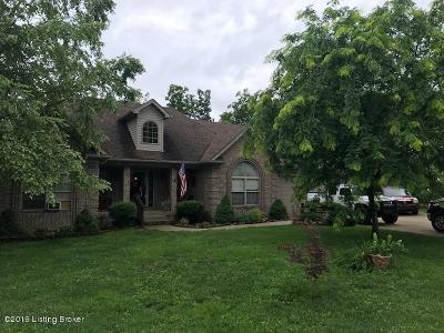Shepherdsville Single Family Home For Sale: 1516 Rams Run Rd