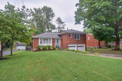 Hikes Point Single Family Home For Sale: 3117 McMahan Blvd