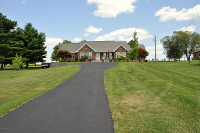 Single Family Home For Sale: 876 Eminence Rd