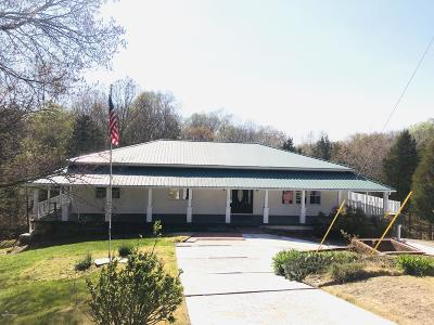 Single Family Home For Sale: 210 Wintergreen Rd