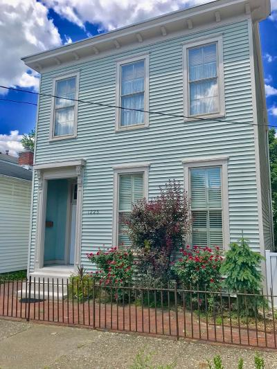 Louisville Single Family Home Active Under Contract: 1225 Hull St