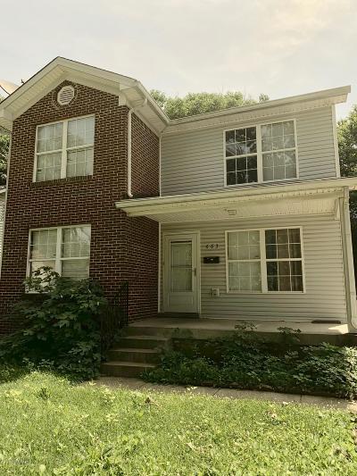 Louisville Single Family Home For Sale: 663 Hecks Ln
