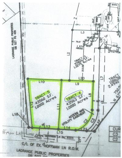 Oldham County Residential Lots & Land For Sale: Tract 4 Hoffman Ln