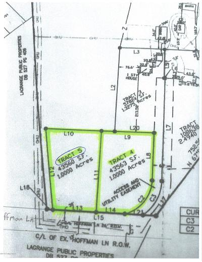 Oldham County Residential Lots & Land For Sale: Tract 5 Hoffman Ln