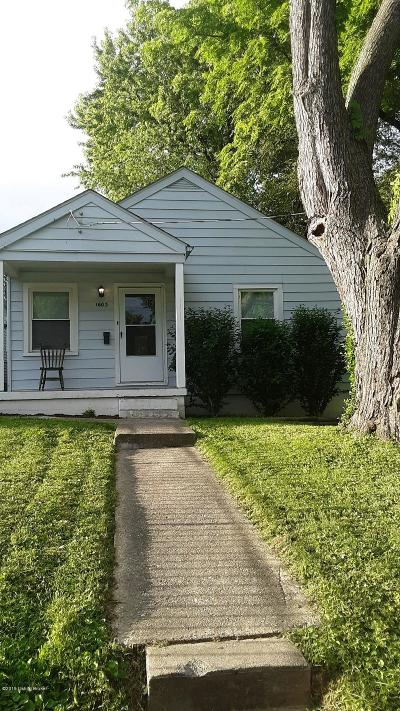Louisville Single Family Home For Sale: 1603 Haskin Ave