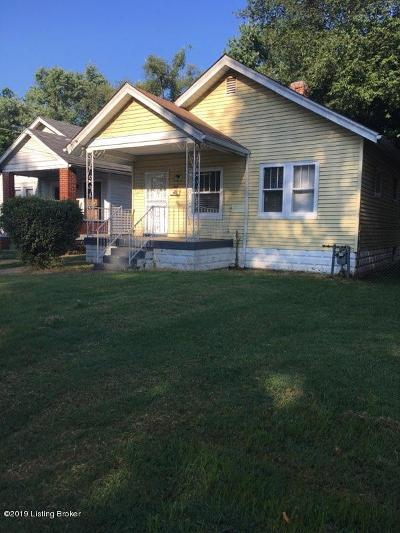 Louisville Single Family Home For Sale: 1614 S 25th St