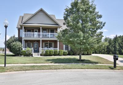 Single Family Home For Sale: 1106 Crossings Cove Ct