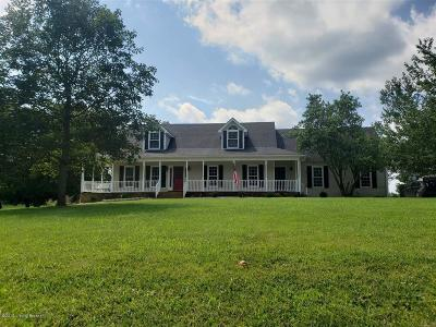 Hardin County Single Family Home For Sale: 7625 New Glendale Rd