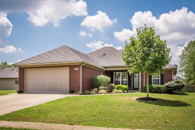 Shelbyville Single Family Home Active Under Contract: 1547 Overlook Cir