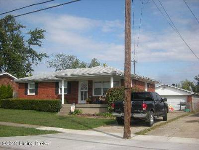 Single Family Home For Sale: 4201 Kurtz Ave