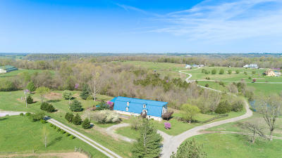 Spencer County Single Family Home For Sale: 145 Hill Valley Dr