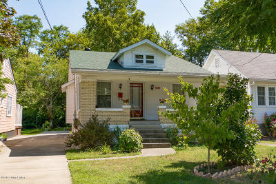 Single Family Home For Sale: 431 Hillcrest Ave
