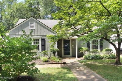 Louisville Single Family Home For Sale: 3505 Nanz Ave