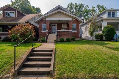 Louisville Single Family Home For Sale: 1840 Shady Ln