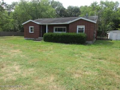 Shepherdsville Single Family Home For Sale: 475 Pitts Point Rd
