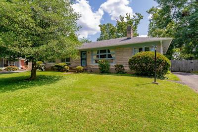 Fern Creek Acres Single Family Home For Sale: 9004 Hudson Ln