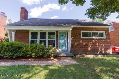 St Matthews Single Family Home For Sale: 205 Marshall Dr