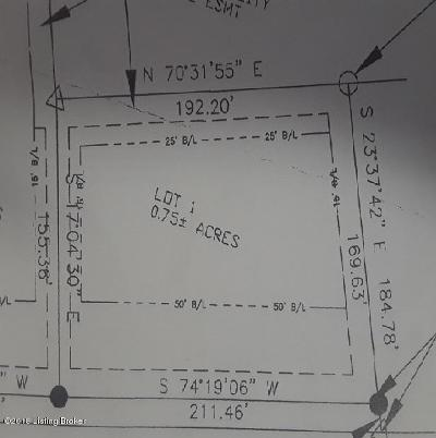 Shepherdsville Residential Lots & Land For Sale: Lot 1 Fairview Ln