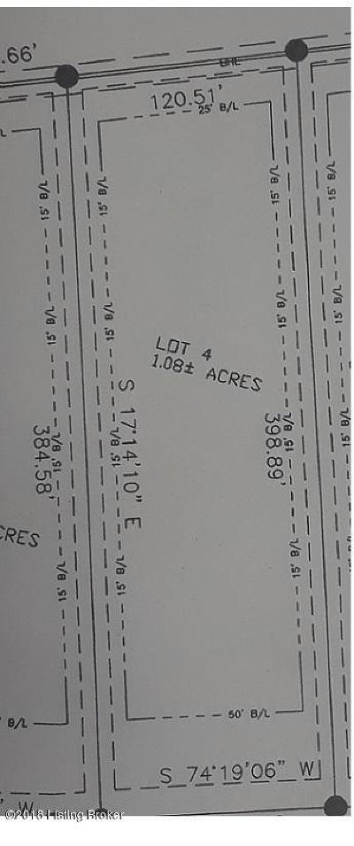 Shepherdsville Residential Lots & Land For Sale: Lot 4 Fairview Ln