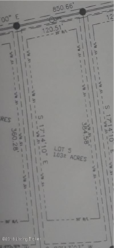 Shepherdsville Residential Lots & Land For Sale: Lot 5 Fairview Ln