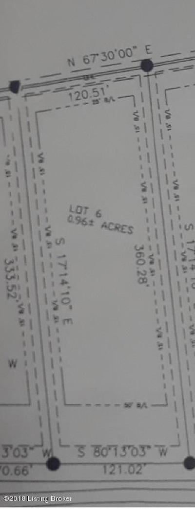 Shepherdsville Residential Lots & Land For Sale: Lot 6 Fairview Ln