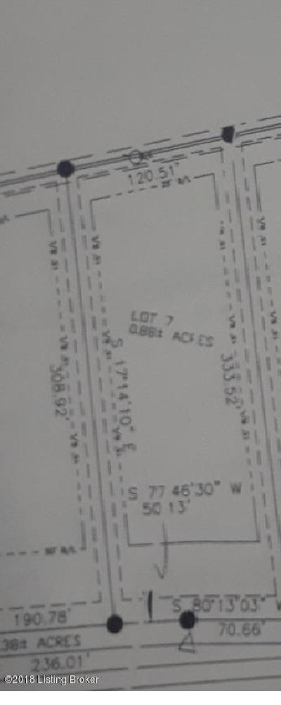 Shepherdsville Residential Lots & Land For Sale: Lot 7 Fairview Ln