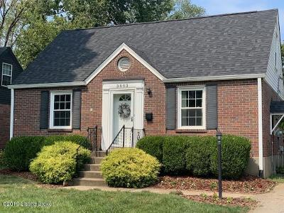 Louisville Single Family Home For Sale: 3803 Ormond Rd