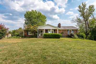 Taylorsville Single Family Home For Sale: 2972 Elk Creek Rd
