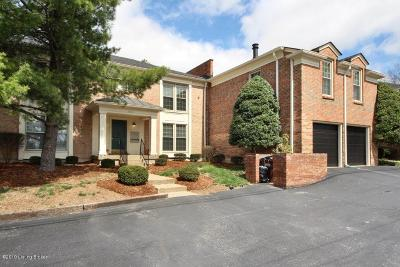 St Matthews Condo/Townhouse For Sale: 3609 Brownsboro Rd #7