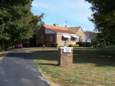 Morganfield Single Family Home Under Contract: 968 N Sr 141