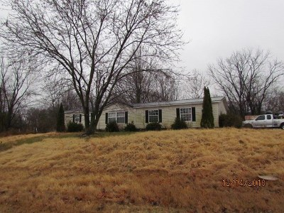 Morganfield Single Family Home Under Contract: 1370 Minerva Limp Road