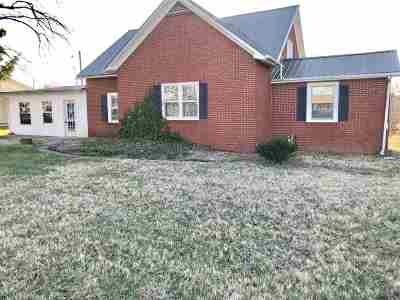 Corydon Single Family Home Under Contract: 15580 Us Hwy 41a