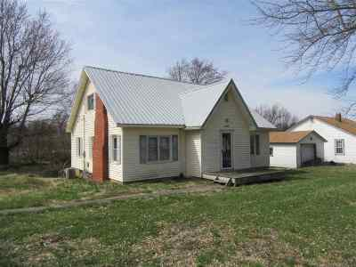 Corydon Single Family Home For Sale: 15536 Us Highway 41a