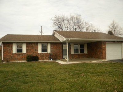 Radcliff KY Single Family Home For Sale: $97,500