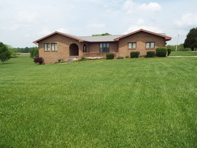 Campbellsville Single Family Home For Sale: 210 Meadow Hill Road