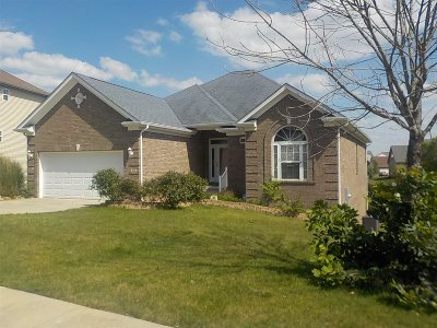Vine Grove Single Family Home For Sale: 404 Cabernet Drive