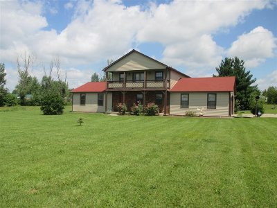 Rineyville Single Family Home For Sale: 345 Deckard School Road