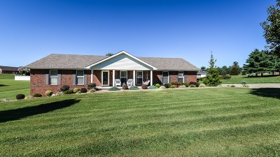 Hodgenville Single Family Home For Sale: 107 Lincoln Lane