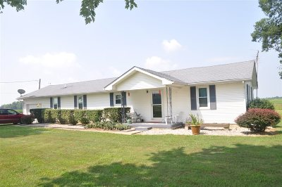 Big Clifty Single Family Home For Sale: 2045 Solway Meeting Creek Road