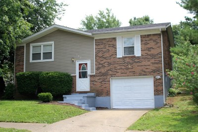 Radcliff KY Single Family Home For Sale: $94,900