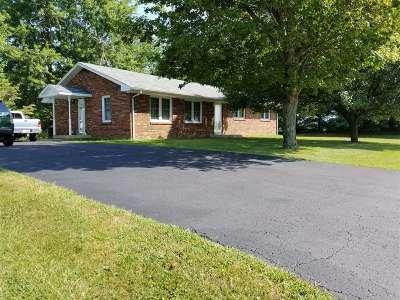 Hodgenville Single Family Home For Sale: 1450 Salem Church Road