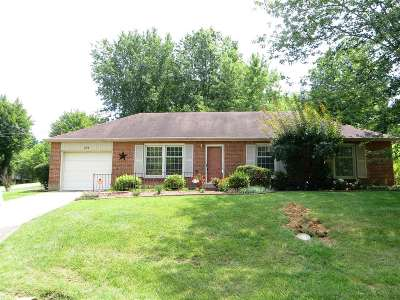 Radcliff Single Family Home For Sale: 254 Redmar Lane