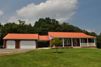 Brandenburg Single Family Home For Sale: 2025 Garrett Road