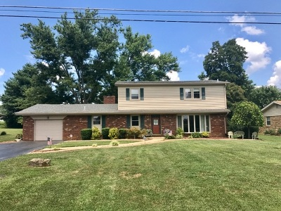 Campbellsville Single Family Home For Sale: 1501 Longview Drive