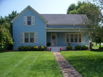 Hodgenville Single Family Home For Sale: 317 S Greensburg Street