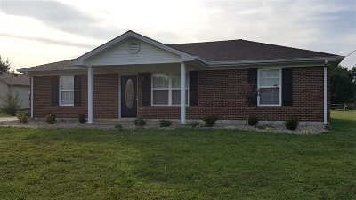 Campbellsville Single Family Home For Sale: 45 Hearth Stone Way
