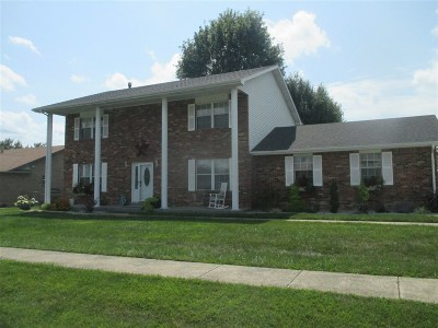 Elizabethtown KY Single Family Home For Sale: $194,999