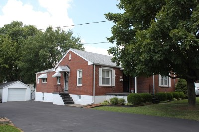 Elizabethtown KY Single Family Home For Sale: $125,000