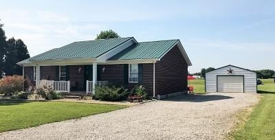 Leitchfield Single Family Home For Sale: 4665 Saint Paul Road